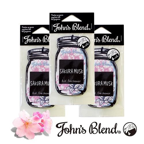 日本John′s Blend─香氛片〈海外限定款櫻花麝香3入組〉