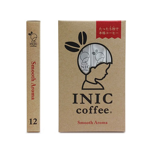 日本INIC coffee─經典原味咖啡Smooth Aroma〈12入組〉