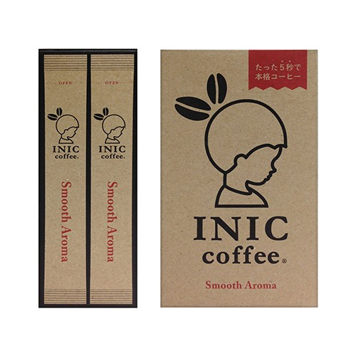 日本INIC coffee─經典原味咖啡Smooth Aroma〈30入組〉