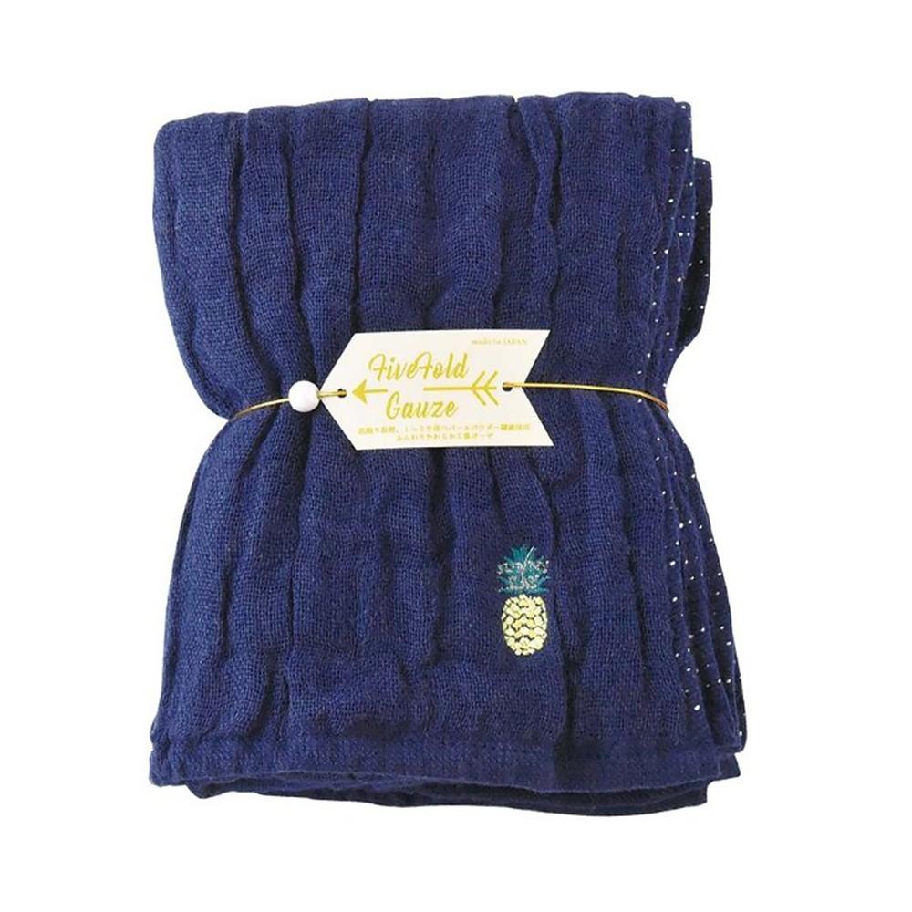 Nicott 日本五重珍珠紗毛巾 〈深海鳳梨〉