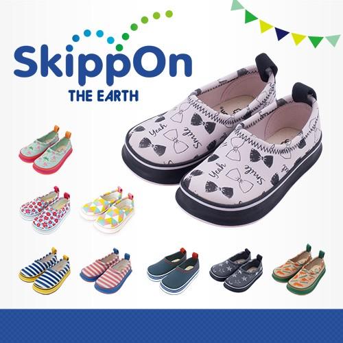 日本SkippOn─兒童休閒機能鞋〈粉紅蝴蝶結〉