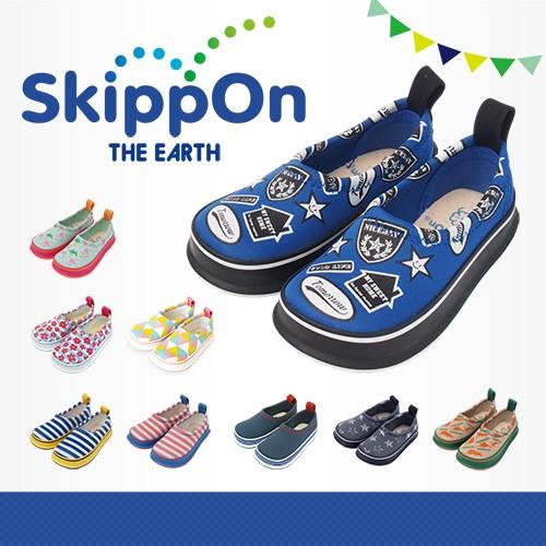 日本SkippOn─兒童休閒機能鞋〈街頭拼貼〉