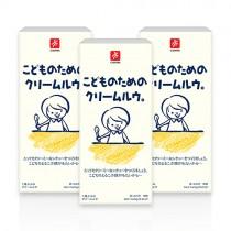 日本CANYON─兒童奶油咖哩塊 140g〈三入組〉