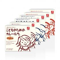 日本CANYON─兒童咖哩塊mini + 兒童奶油咖哩塊mini + 兒童燉菜湯塊mini〈六入組〉