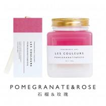LES COULEURS 植萃香氛袋+植萃香氛膏〈 石榴&玫瑰組 〉