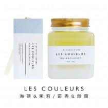 LES COULEURS 植萃香氛袋+植萃香氛膏〈海鹽茉莉&麝香鈴蘭組〉