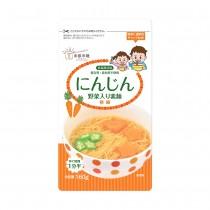 日本東銀來麵—無食鹽寶寶蔬菜細麵〈胡蘿蔔〉