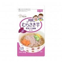 日本東銀來麵—無食鹽寶寶蔬菜細麵〈紫薯〉