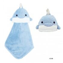 日本Pine-Create 動物造型擦手巾〈海豚〉