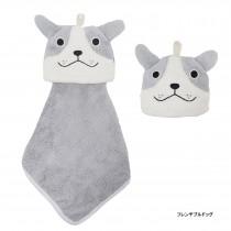 日本Pine-Create 動物造型擦手巾〈法鬥〉