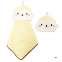 日本Pine-Create 動物造型擦手巾〈猴子〉