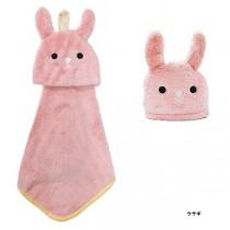 日本Pine-Create 動物造型擦手巾〈兔子〉