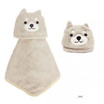 日本Pine-Create 兒童造型擦手巾〈 柴犬〉