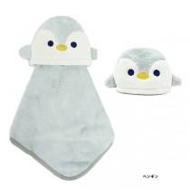 日本Pine-Create 兒童造型擦手巾〈企鵝〉
