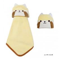 日本Pine-Create 動物造型擦手巾〈浣熊〉
