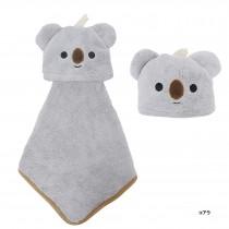 日本Pine-Create 動物造型擦手巾〈無尾熊〉