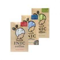 日本INIC coffee─經典原味咖啡 + 咖啡歐蕾 + 自然農法咖啡〈各3入*1組〉