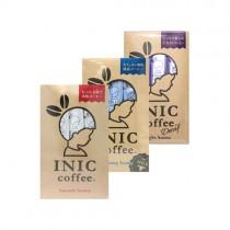 日本INIC coffee─經典原味咖啡 + 咖啡歐蕾 + 低咖啡因咖啡〈各3入*1組〉