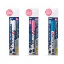 日本製 KAWAGUCHI—布織品專用銀河筆(水性)—白/藍/粉