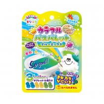 日本 MANABURO歡樂調色盤入浴錠 〈 水藍海風香 〉