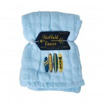 Nicott 日本五重珍珠紗方巾 〈水漾海灘〉