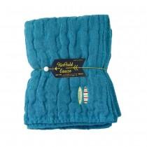 Nicott 日本五重珍珠紗毛巾 〈土耳其藍海灘〉