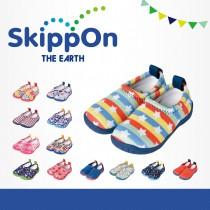 日本SkippOn─「ISEAL VU系列」兒童休閒機能鞋〈彩虹星星 〉