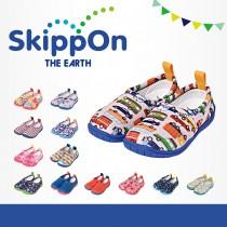 日本SkippOn─「ISEAL VU系列」兒童休閒機能鞋〈車車總動員〉