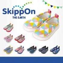 日本SkippOn─兒童休閒機能鞋〈三角幾何〉