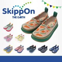 日本SkippOn─兒童休閒機能鞋〈恐龍星球〉