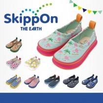 日本SkippOn─兒童休閒機能鞋〈夏日紅鶴〉
