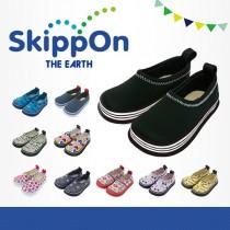 日本SkippOn─兒童休閒機能鞋〈百搭酷黑〉
