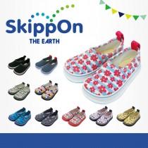 日本SkippOn─兒童休閒機能鞋〈甜美碎花〉