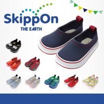日本SkippOn─兒童休閒機能鞋〈經典靛藍〉
