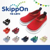 日本SkippOn─兒童休閒機能鞋〈經典豔紅〉