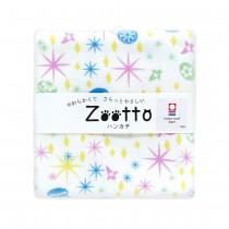 日本 Zootto今治認證速乾紗布方巾〈觀星的水母 〉