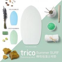 日本trico─Summer SURF瞬吸珪藻土地墊